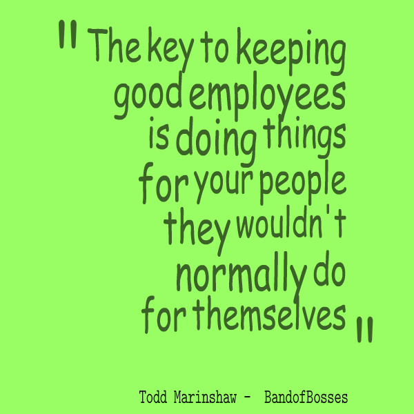 Key To Keeping Employees